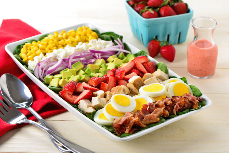 Strawberry Cobb Salad from Produce Made Simple