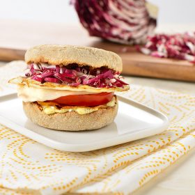 Radicchio Breakfast Sandwich