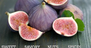 What do Figs go well with?