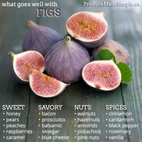What Goes Well With Figs | Produce Made Simple