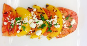 Grilled Heirloom Tomato Salad – Nature Fresh Farms