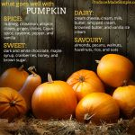 What Goes Well With Pumpkin?