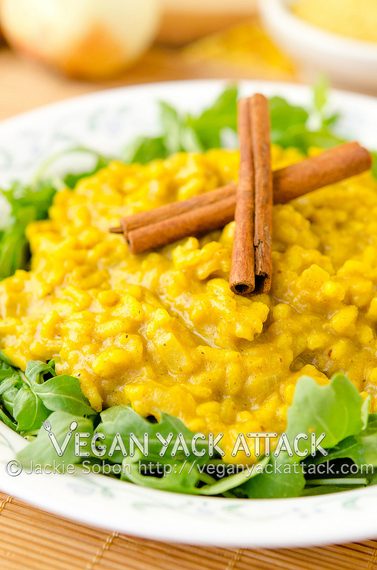 Pumpkin-Curry-Risotto