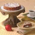 Lazy pear coffeecake