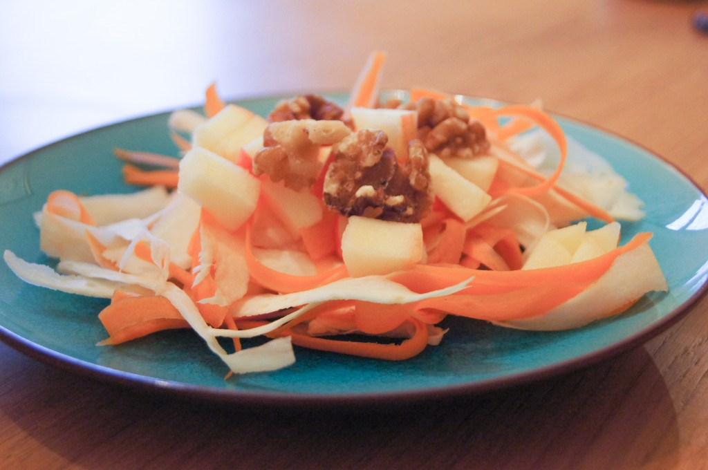 Parsnip, Carrot and Apple Salad