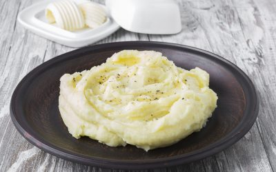 Mashed Parsnip and Potatoes