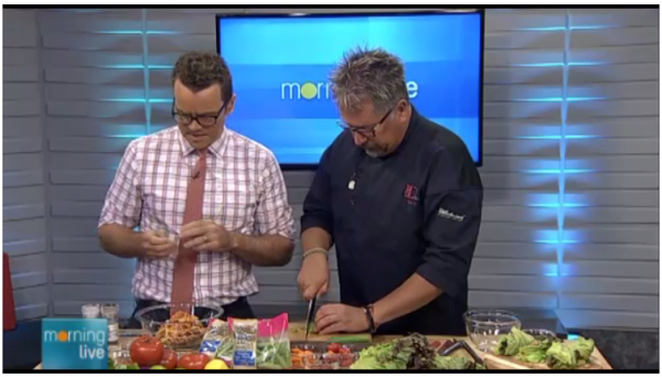 Healthy Entertaining on CHCH with Chef D TV
