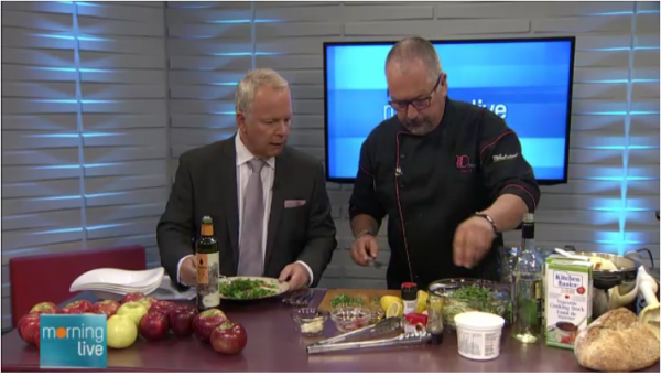 Chef D on CHCH with Ontario Apples!