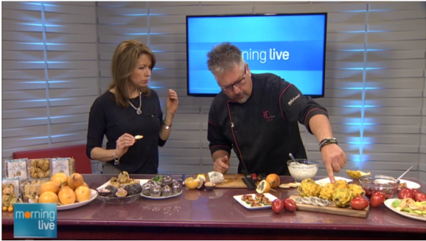 Chef D on CHCH with Exotic Fruits