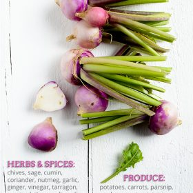 What Goes Well With Turnips?
