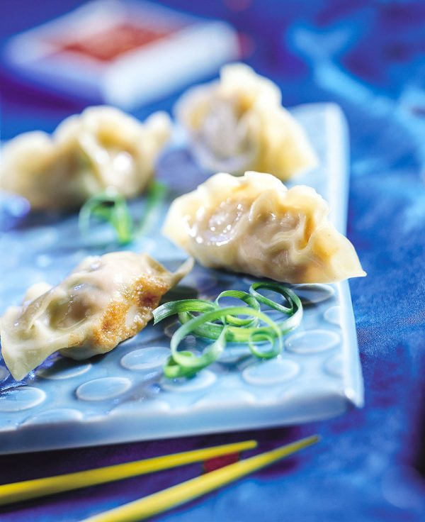 Cabbage Filled Pot Stickers