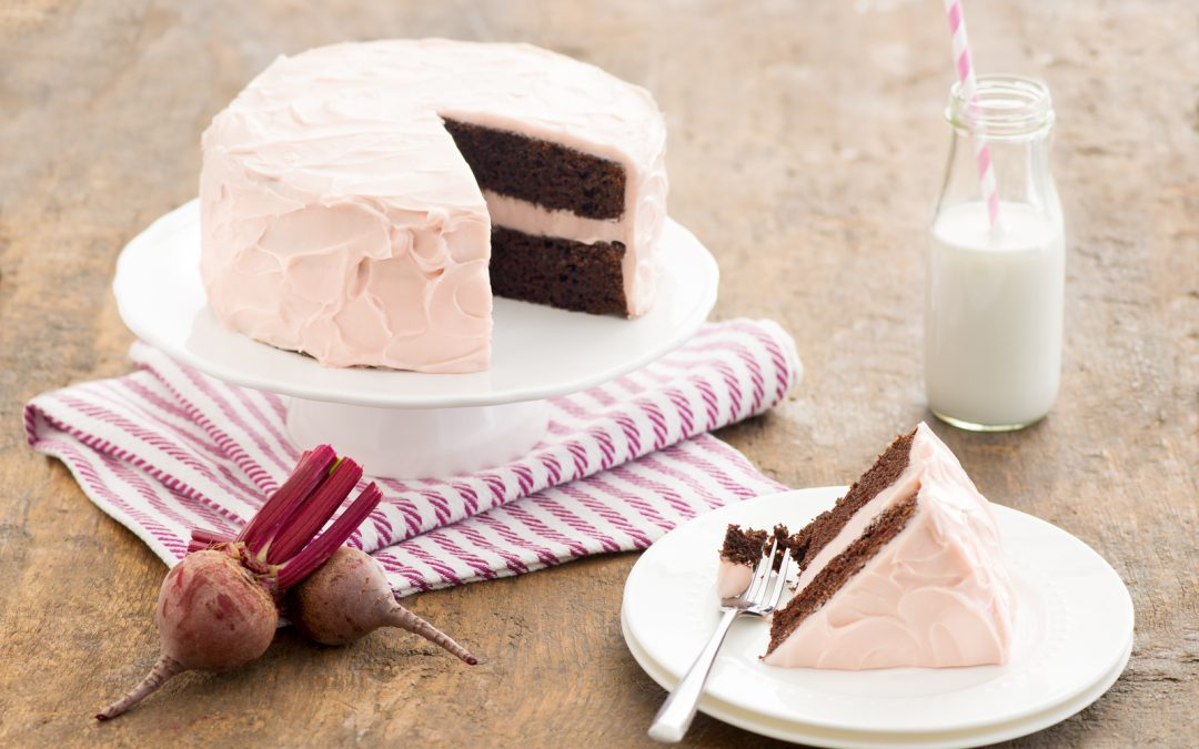 Chocolate Beet Cake with Cream Cheese Frosting