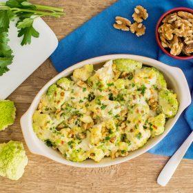 Broccoflower Gratin