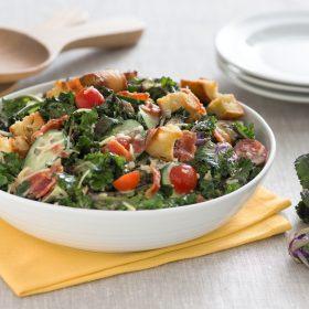 Kalette Caesar Salad