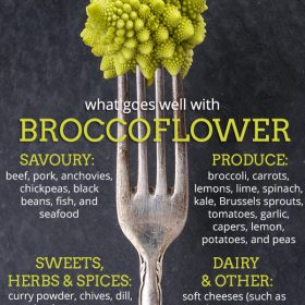 What does Broccoflower Go Well With?