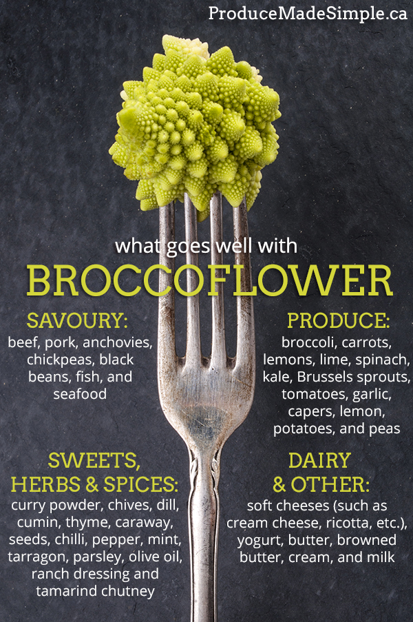 broccoflower goes well with