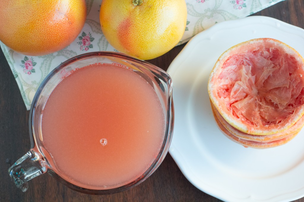 how to make grapefruit sorbet
