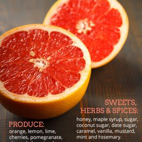 What Does Grapefruit Go Well With?