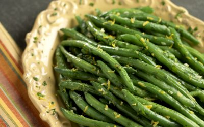 Green Beans with Lemon & Parsley