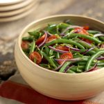 Mann's Green Bean & Cherry Tomato Salad