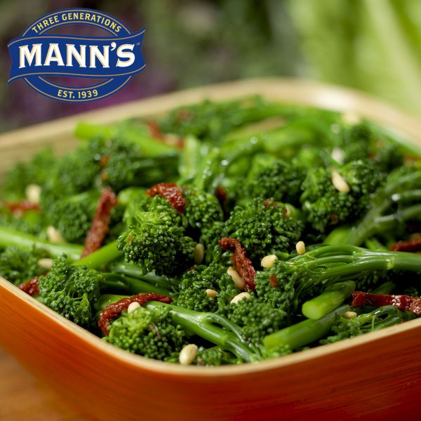 Broccolini with Pine Nuts and Sun Dried Tomatoes
