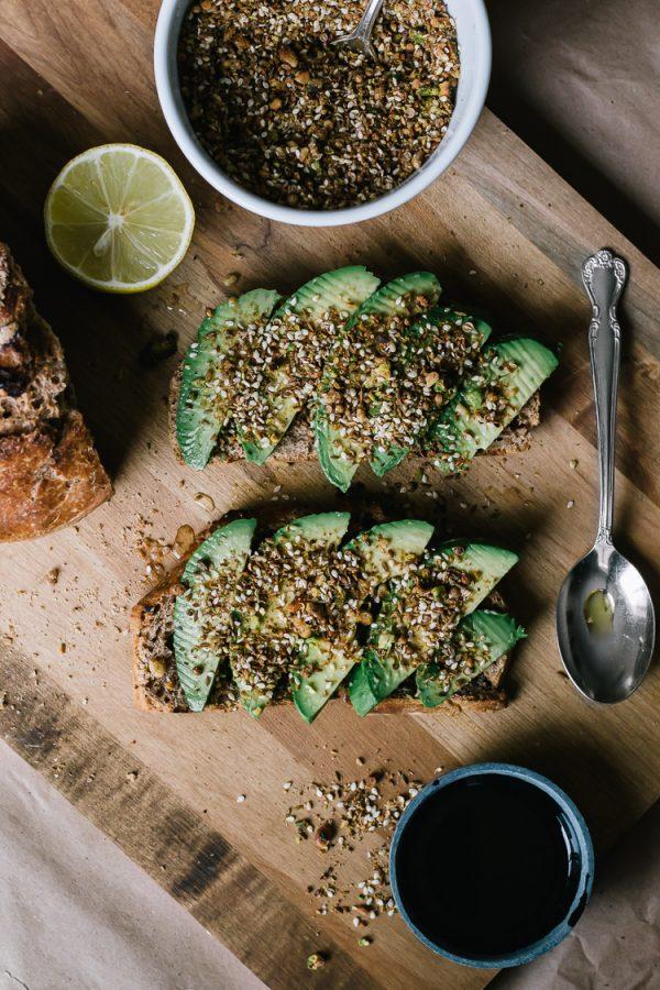 Dukkah Avocado Toast