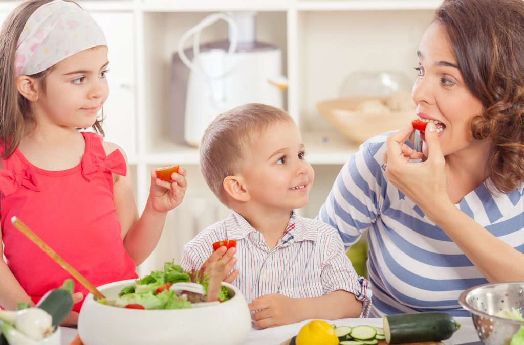 Getting Your Kids To Eat Veggies — Tips