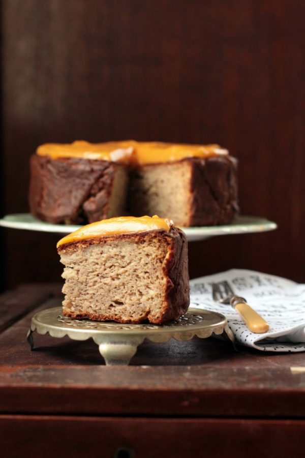 Parsnip, Maple and Nutmeg Cake from Veggie Desserts