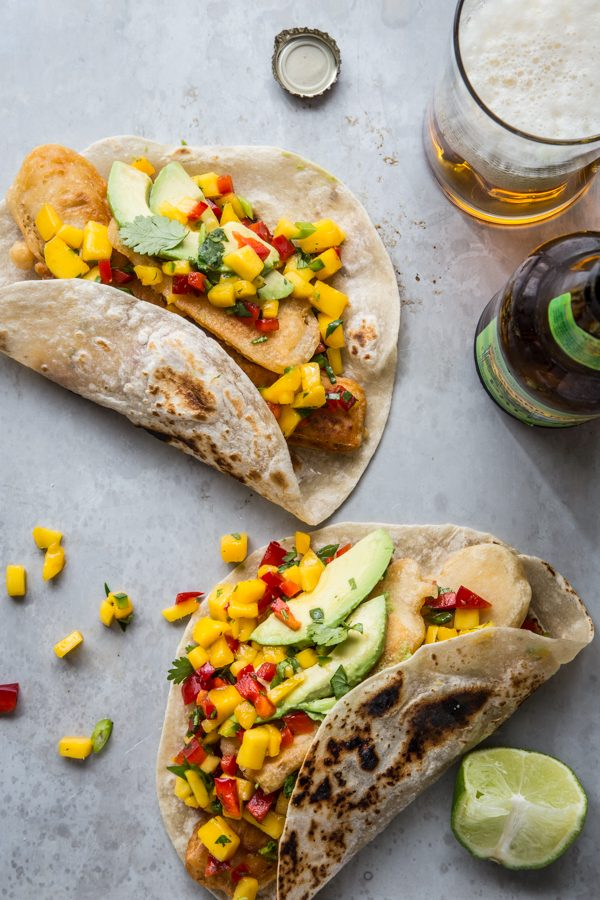 beer_battered_tofu_tacos_with_mango_salsa