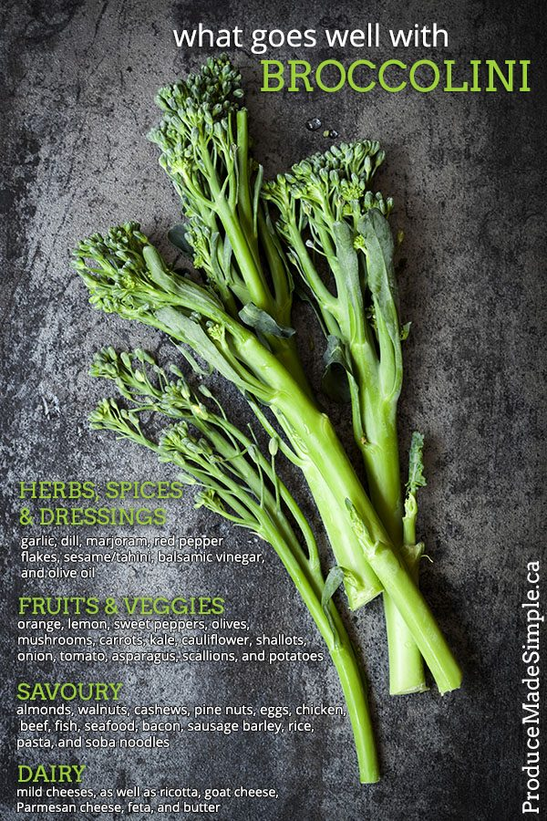 What Goes Well With Broccolini