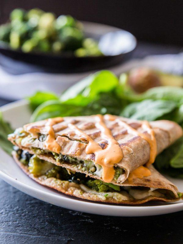 green machine quesadillas