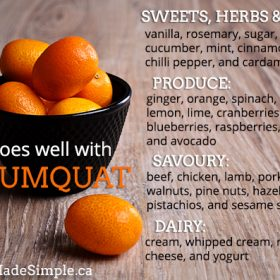 What Goes Well With Kumquats