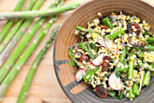 Asparagus-Bulgur-Wheat-Salad