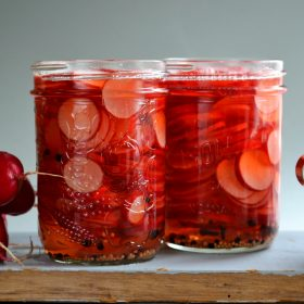 Pickled Radishes With Whole Spices - Hero Landscape