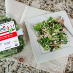 Baby Spring Mix, Quinoa and Pea Salad