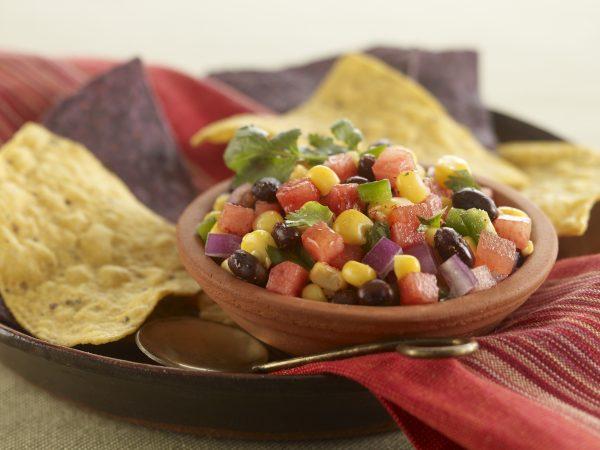 Black Bean, Corn, and Watermelon Salsa