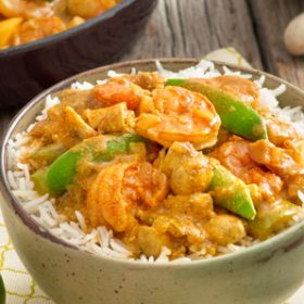 Creamy Shrimp and Vegetable Curry