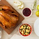 Herb and Pear Glazed Roast Turkey-034