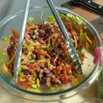 bean salad mix for lettuce wrap