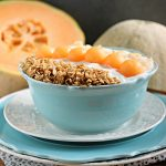 Cantaloupe Breakfast Bowl by Cravings of a Lunatic