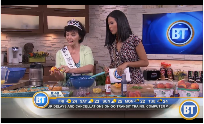 Mairlyn Smith on BT Toronto!