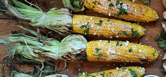 Corn Relish and Mexican Street Corn