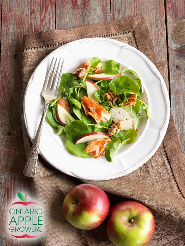 Apple and Smoked Trout Salad