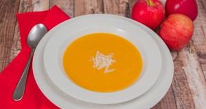 Ontario Apple, Butternut Squash and Sweet Potato Soup