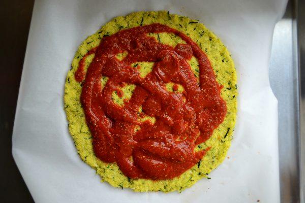 Zucchini Pizza Crust Sauce web