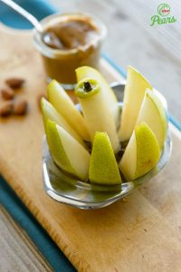 Pear and Slicer bartlett_almond_butter