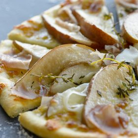 Savoury Pear Pizza