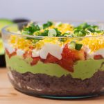 Black Bean Avocado Layer Dip-1