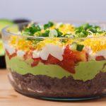 Black Bean Avocado Layer Dip-1