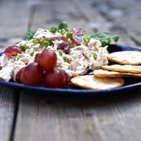 Chicken Salad with Grapes